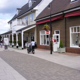 Shopping at Bicester Village